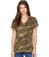 Alternative - Burnout French Terry Co-Ed Deep V Tee