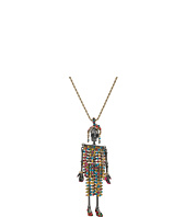 Betsey Johnson - Skeleton Long Pendant Necklace
