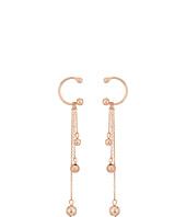 Rebecca Minkoff - Linear Triple Drop Sphere Earrings