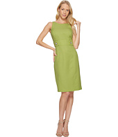 Tahari by ASL - Birdseye Jacquard Sheath Dress