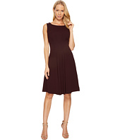 Taylor - Scuba Crepe Fit and Flare Dress