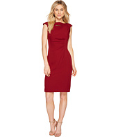Tahari by ASL - Neck Slash Sheath Dress