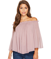 ROMEO & JULIET COUTURE - Off Shoulder Pleats Top