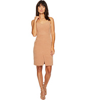 J.O.A. - Front Slit Fitted Dress