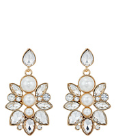GUESS - Clustered Stone Drop Earrings
