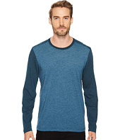 Agave Denim - Shoaling Long Sleeve Color Block Neps T-Shirt