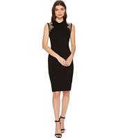 Tahari by ASL - Sheath with Gemstone Detail