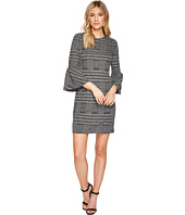 Calvin Klein - Plaid Print Bell Sleeve Dress CD7P286L
