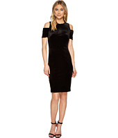 Calvin Klein - Cold Shoulder Velvet Sheath Dress CD7V114R