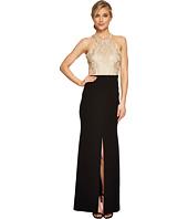 Calvin Klein - Halter Neck Lace Bodice Gown CD7B277B