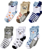 Jefferies Socks - Non-Skid Dog Socks 6-Pack (Infant/Toddler)