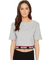 Moschino - Cotton Fleece Short Sleeve Sweatshirt