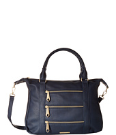 Rampage - Triple Zipper Satchel