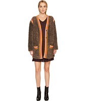 M Missoni - Knit Fur w/ Trim Jacket
