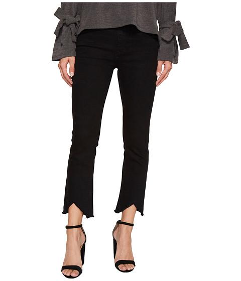 J.O.A. Distressed Hem Bootcut Jeans