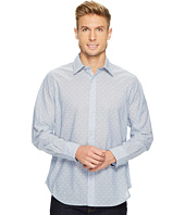 Robert Graham - Dogtown Long Sleeve Band Collar Shirt