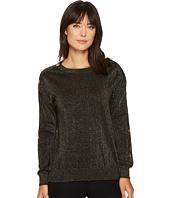 MICHAEL Michael Kors - Lurex Button Sweater