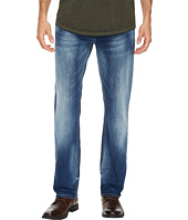 Buffalo David Bitton - Evan-X Slim Straight Leg Jeans in Veined and Whiskered