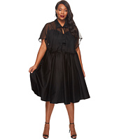 Unique Vintage - Plus Size Luna Swing Dress