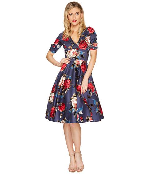 Unique Vintage Delores Swing Dress