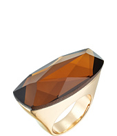 Robert Lee Morris - Topaz and Gold Stone Ring