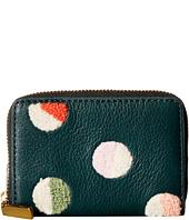Fossil - Mini Wallet RFID Mini Zip Card Case