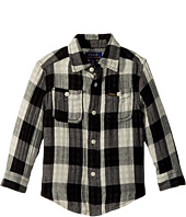 Polo Ralph Lauren Kids - Plaid Cotton Workshirt (Toddler)