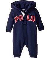 Ralph Lauren Baby - Cotton-Blend-Fleece Coverall (Infant)