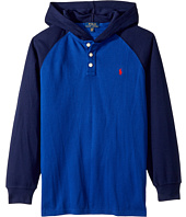 Polo Ralph Lauren Kids - Waffle-Knit Cotton Hoodie (Big Kids)
