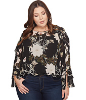 Lucky Brand - Plus Size Ruffle Top