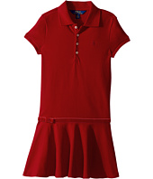 Polo Ralph Lauren Kids - Stretch Cotton Polo Dress (Little Kids)