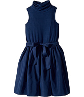 Polo Ralph Lauren Kids - Fit-and-Flare Turtleneck Dress (Little Kids/Big Kids)