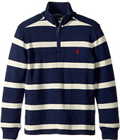 Polo Ralph Lauren Kids - Striped French-Rib Pullover (Big Kids)