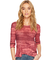 Lucky Brand - Printed Ruffle Top