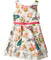 fiveloaves twofish - Fashionista Dress Wild About Paris (Toddler/Little Kids)