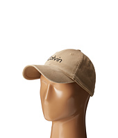 Calvin Klein - Washed Twill Adjustable Baseball Cap