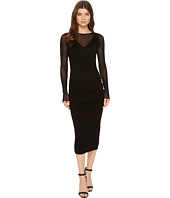 Michael Stars - Collection Dress Long Sleeve Ruched Midi Dress
