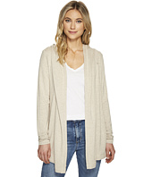 Michael Stars - Elevated French Terry Hooded Jacket with Thumbholes
