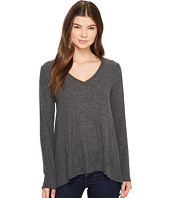 Michael Stars - Super Soft Madison Long Sleeve V-Neck Top