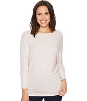 Michael Stars - Super Soft Madison Boat Neck 3/4 Dolman Sleeve Tunic