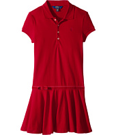 Polo Ralph Lauren Kids - Stretch Cotton Polo Dress (Little Kids/Big Kids)