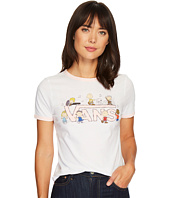 Vans - Peanuts Dance Party Ringer Tee