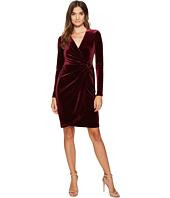 Maggy London - Velvet Wrap Dress