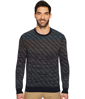 Perry Ellis - Ombre Jacquard Crew Sweater