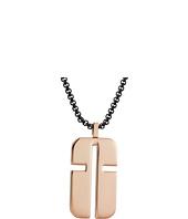 Steve Madden - Stainless Steel Cross Design Necklace