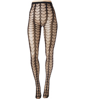 Betsey Johnson - 1-Pack Heart Openwork Tights