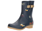 Butterfly Mid Rain Boots