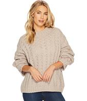 J.O.A. - Drop Shoulder Crew Neck Sweater