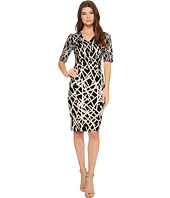 Adrianna Papell - Dancing Sticks Sheath Dress