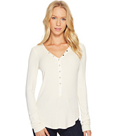 Three Dots - Viscose Rib Henley